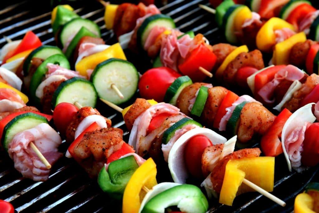 Brochettes barbecue