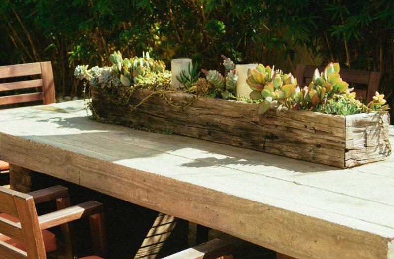 salon de jardin bois