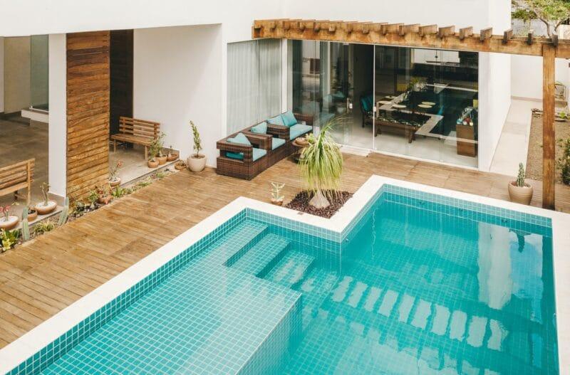 différents types de piscine
